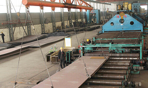 Plate edge process of welded pipe production-GKSTEELPIPE